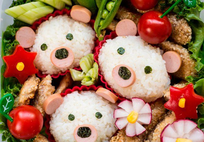 Бэнто для детей – искусство делать школьные обеды привлекательными