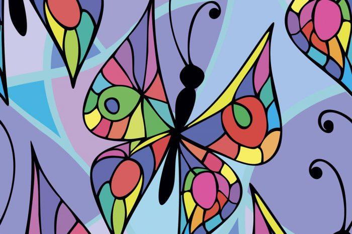 Роспись витражными красками с детьми