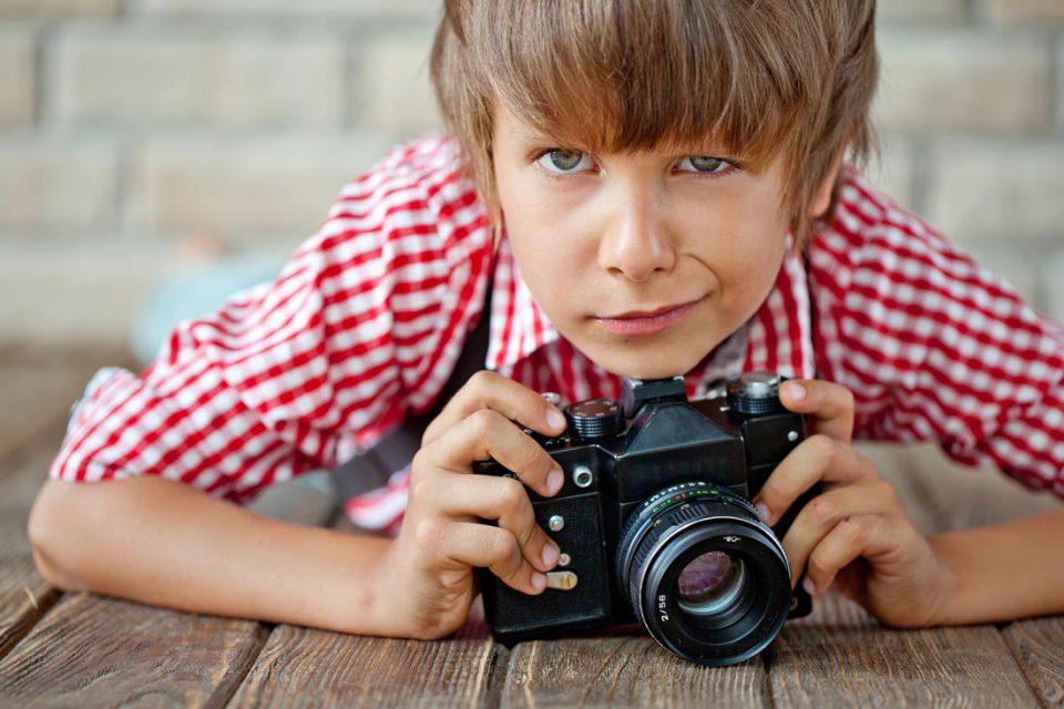 Маленький фотограф. Первые шаги в искусстве