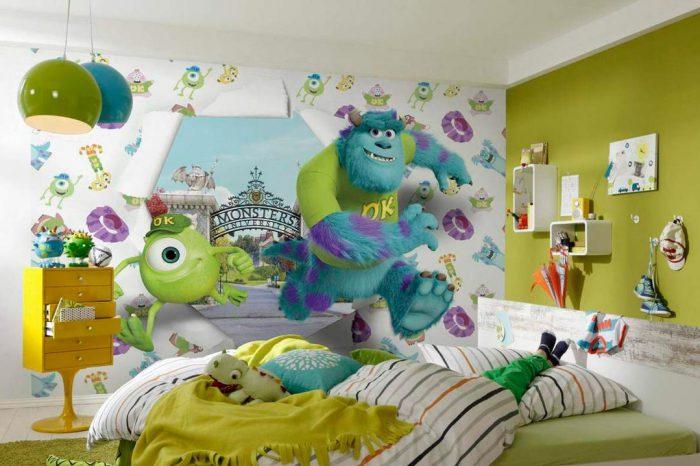 Выбор фотообоев для комнаты ребенка