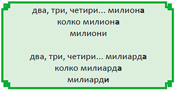 количественные числительные болгарский язык
