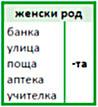 болгарский язык окончания в существитеьлных