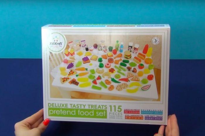 Игрушечные продукты ❤️ Открываю набор из 115 игрушечных продуктов. Мои любимые продукты