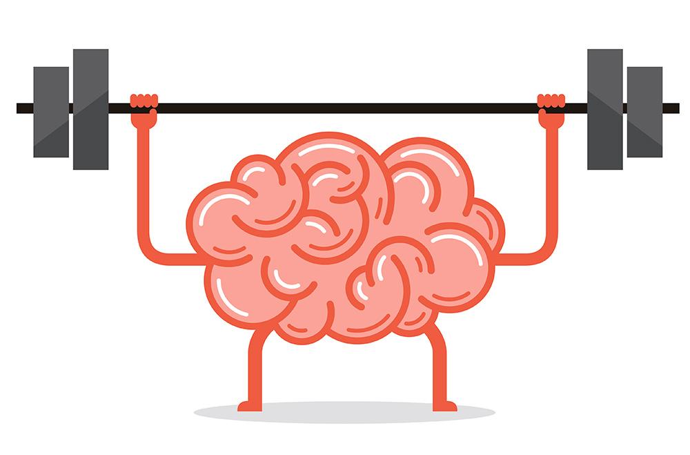 мозг со штангой